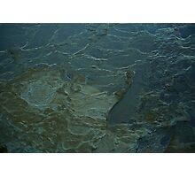 Wet Rockface 2 -Terragal Photographic Print