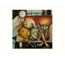 Waiting Room Of Souls Art Print