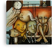 Waiting Room Of Souls Canvas Print