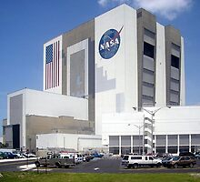 Vehicle Assembly Building Cape Canaveral by cadellin