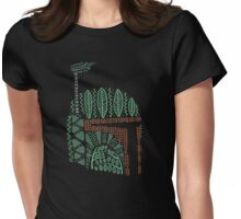 Tribal Bounty Hunter Womens Fitted T-Shirt