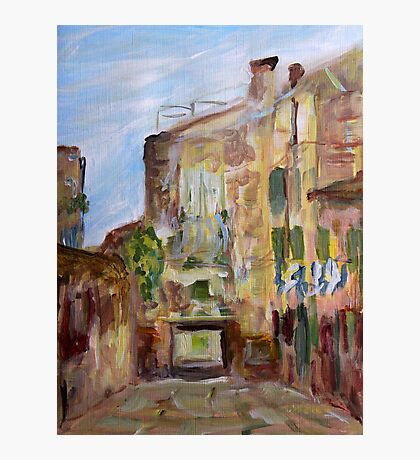 Low Entry Venice Italy  Photographic Print