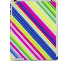 Color craft straws as a background iPad Case/Skin