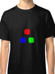 RBG Glowing Pixels Classic T-Shirt