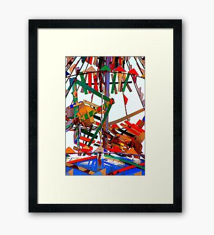 Whirligig Top Framed Print