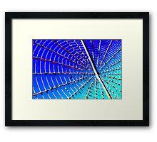 Spiral Whirligig Framed Print