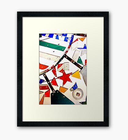 Whirligig Up Close Framed Print