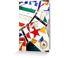 Whirligig Up Close Greeting Card