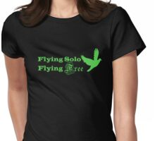 Flying Solo Flying Free Womens Fitted T-Shirt