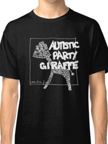Autistic Party Giraffe - White Classic T-Shirt