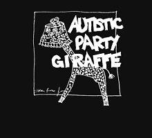 Autistic Party Giraffe - White Unisex T-Shirt