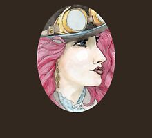 Illustrated Girl 3 Womens Fitted T-Shirt