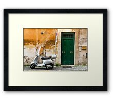 classical italy Framed Print
