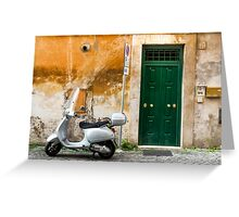 classical italy Greeting Card