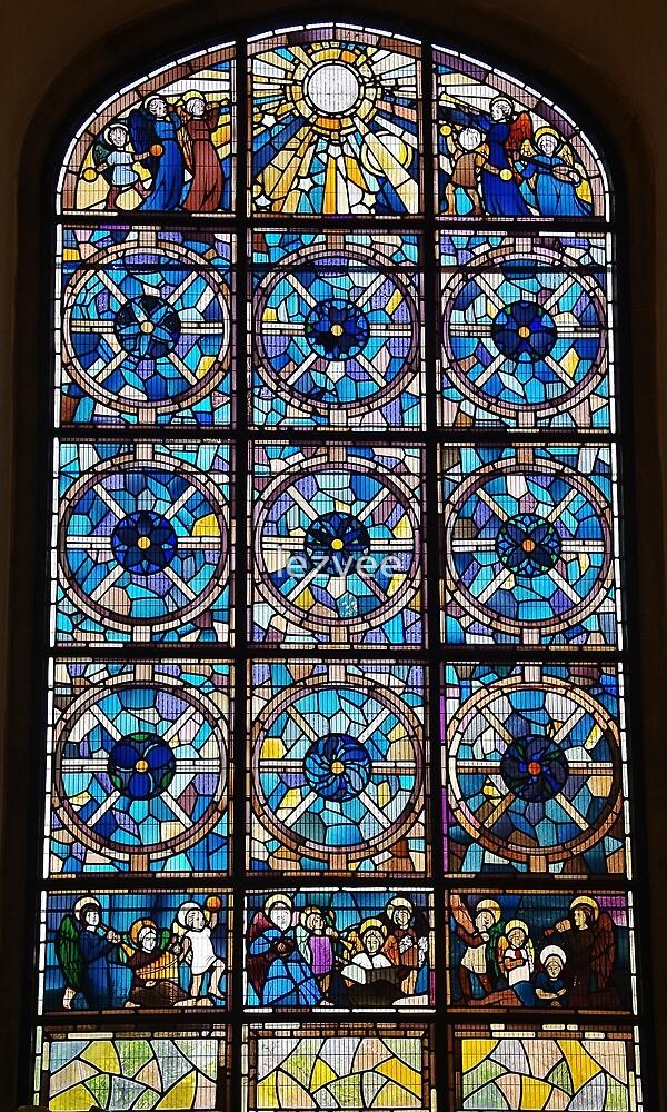 Meeting House Window by lezvee