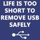 Life is too short to remove USB safely by craigistkrieg