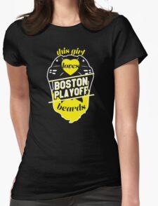 This Girl Loves BOSTON Playoff Beards! (Black) T-Shirt