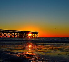 Sunrise Pier by Chris King