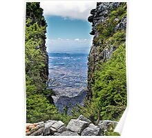 Cape Town from Table Mountain Poster