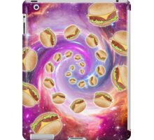 Spiral Galaxy of Burgers iPad Case/Skin