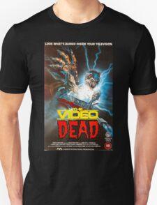 The Video Dead (Full VHS Cover) Unisex T-Shirt