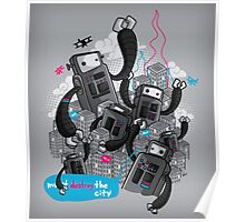 Robots - Must destroy the city Poster