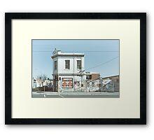 Richmond, Melbourne Framed Print