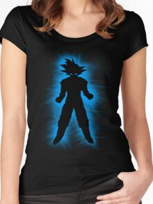 Goku Women's Fitted Scoop T-Shirt
