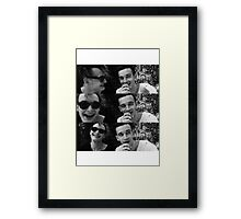 George, you cutie Framed Print