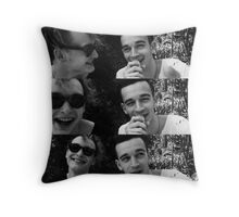 George, you cutie Throw Pillow
