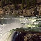 Kootenai Falls At High Water by Bryan D. Spellman