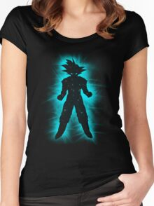 Goku Space Women's Fitted Scoop T-Shirt
