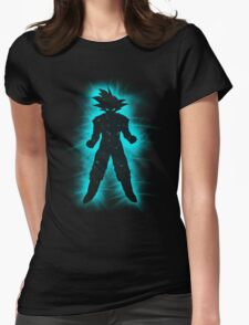 Goku Space Womens Fitted T-Shirt