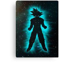 Goku Space Canvas Print