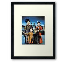 Michael Myers in Mary Poppins Framed Print