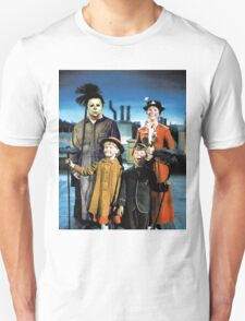 Michael Myers in Mary Poppins Unisex T-Shirt