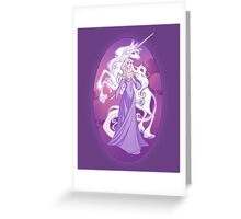The Last Unicorn in the World Greeting Card