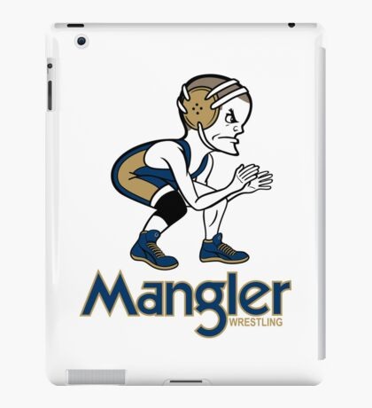 Mangler Wrestler iPad Case/Skin