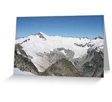 Eldorado Peak Greeting Card