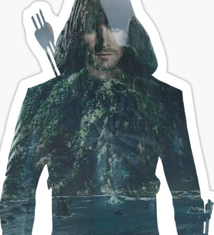 Arrow - Oliver Sticker