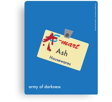 Ash Housewares Minimalist Canvas Print