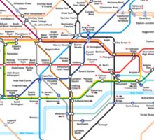underground of london Sticker
