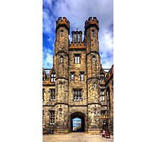 New College Gatehouse Photographic Print