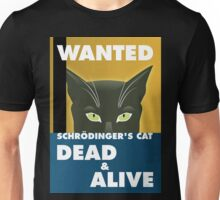 Schrödinger's Cat poster Unisex T-Shirt
