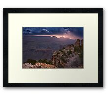 Eye of the Storm Framed Print
