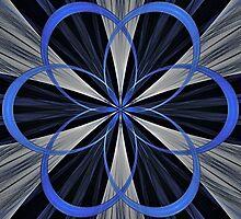Blue Links by Sandy Keeton