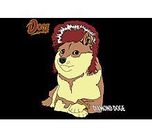 Diamond Doge (sans Comic Sans) Photographic Print