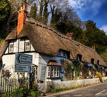 Shepards Cottage, Wherwell, Hampshire by NeilAlderney