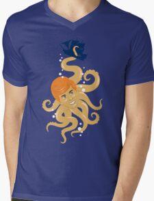 Release The Kra-Ken Mens V-Neck T-Shirt