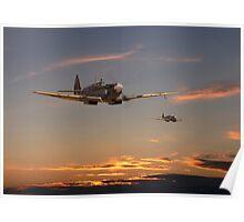 Spitfire - Mission Complete Poster